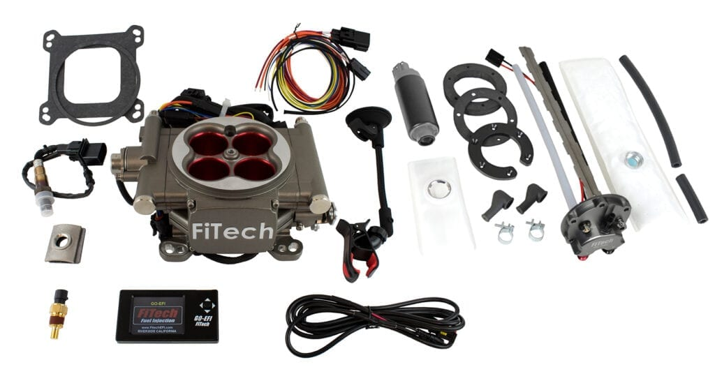Go Street - 400 HP EFI System - Cast Style Finish, With In Tank Retrofit Kit-P/N 50015