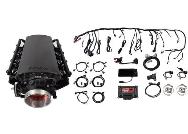 70031 Ultimate LS 1000 HP EFI System With Short Cathedral Intake & Transmission Control